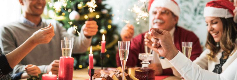 Consejos para sobrevivir a las comidas de navidad