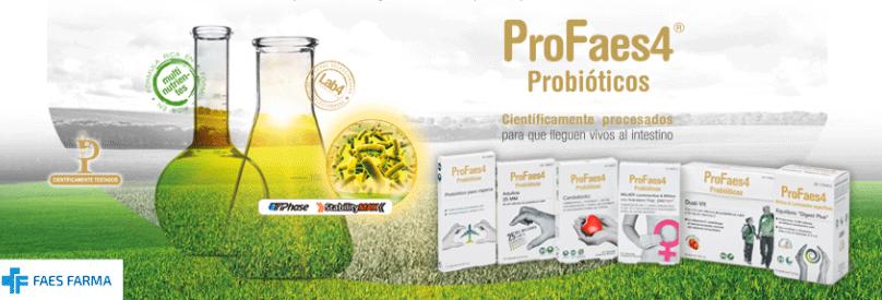 ProFaes4, la gama de probióticos desarrollada para situaciones específicas para ayudarnos a mejorar nuestra salud